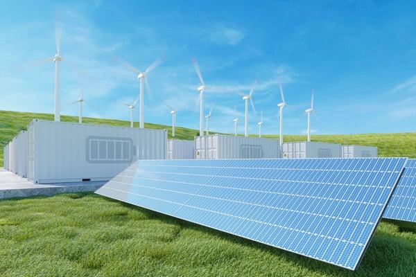 battery energy storage system solar panels