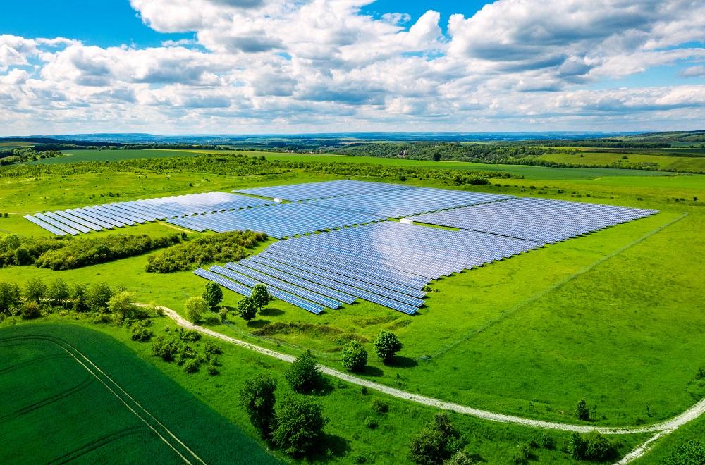 solar power energy farm