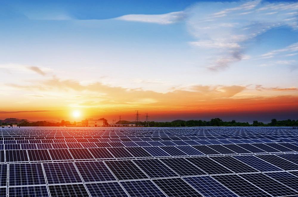 utility scale solar plant